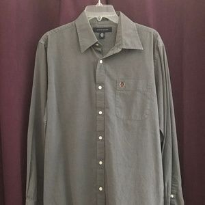 Tommy Hilfiger Mens Button up Size L (M225)